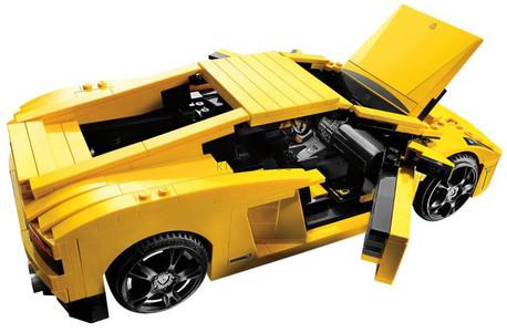 Детская игрушка Lego Racers Ламборджини Gallardo LP560-4 (8169)