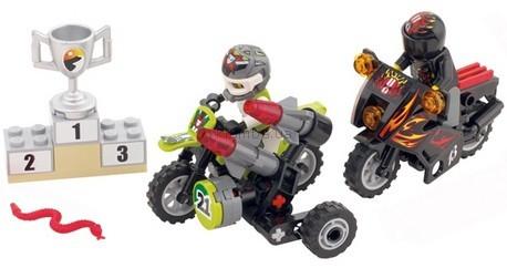 Детская игрушка Lego Racers Змеиный каньон (8896)