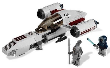 Детская игрушка Lego Star Wars Лёгкий звездолёт Фрико (8085)