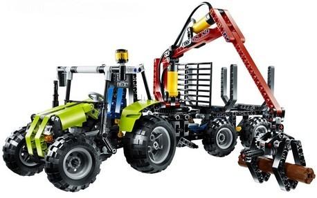 Детская игрушка Lego Technic Трактор с лесопогрузчиком (8049)