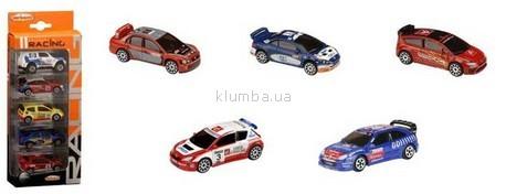 Детская игрушка Majorette Набор из 5 машинок Racing