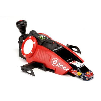 Детская игрушка Majorette Турбо-ускоритель Racing и 3 машинки