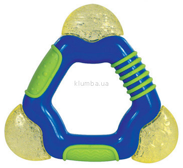 Детская игрушка Nuby Прорезыватель Треугольник  (3 вида)