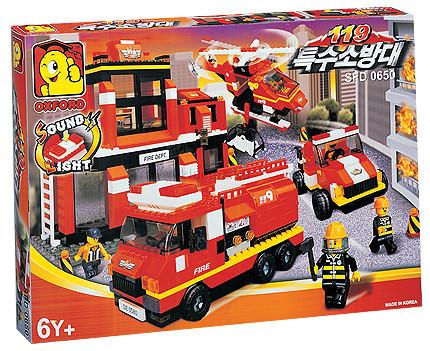Детская игрушка Oxford Пожарная станция
