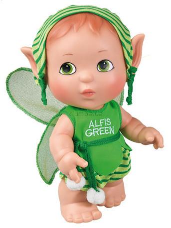 Детская игрушка Paola Reina Пупс Эльф зеленый