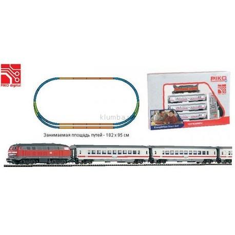 Детская игрушка Piko Большой набор Пассажирский поезд с локомотивом (57155)