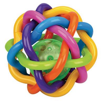 Детская игрушка Playgro Прорезыватель Сгибающийся мячик