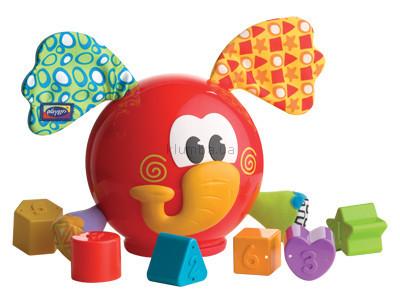 Детская игрушка Playgro Сортер  Слоненок