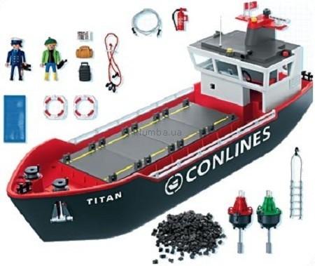 Детская игрушка Playmobil Грузовой корабль
