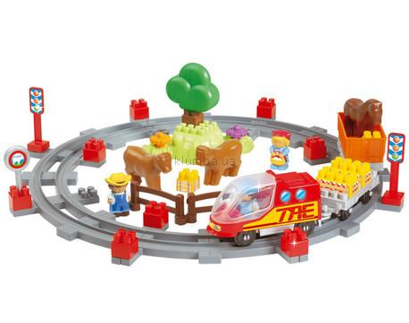 Детская игрушка Smoby Сельский поезд с людьми (Ecoiffier)