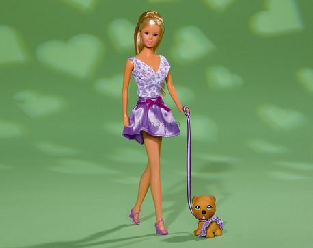 Детская игрушка Steffi Love Штеффи и гламурный песик