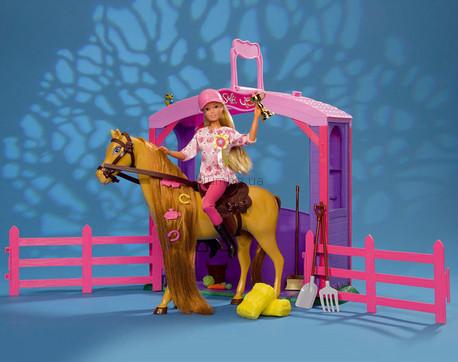 Детская игрушка Steffi Love Штеффи с конем На конюшне