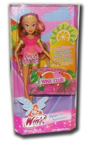 Детская игрушка WinX  Флора, Фруктовая вечеринка