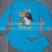 Пижамки  теплые и практичные модным деткам от 1 года до 7 лет.