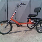 Трёхколёсный велосипед для взрослых, веломобиль , велорикша