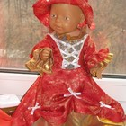 Одежда для Baby Born. Платье королевы