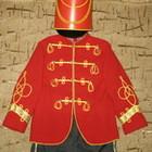 напрокат костюм гусара, рост 116-122см.