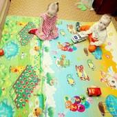 Эксклюзивный товар!Скидки!Идеальный теплый коврик для деток всех возрастов Babypol!Моя доставка
