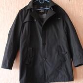 Демисезонная куртка-плащ. Большой размер 56.