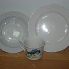 Тарелки и чашки для детсадов