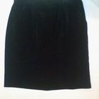 Итальянская под замш теплая юбка Джессика котоновый велюр