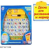 Игра говорящий плакат азбука 2в1 Букварик (укр)