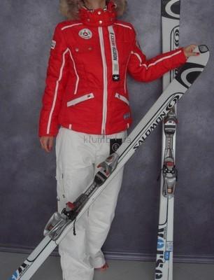 BOGNER XXL5254 женский лыжный красный костюм штаны красная куртка