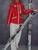BOGNER XXL5254 женский лыжный красный костюм штаны красная куртка. Фотография №1