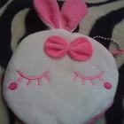 Детские кошельки отличный подарок розовый зайка