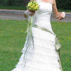 Прокат/Продажа: Свадебное платье Happy Day в отл.сост. XS-S (34 р.)
