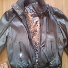 куртка-кожзам очень стильная срочно