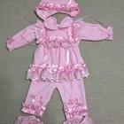 Нарядный розовый костюмчик