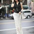 Кружевная Длинная юбка очень шикарная разные цвета