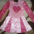Платье на танцы 5-8 лет