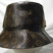 Louis Vuitton monogram canvas bucket cap / hat rare панама