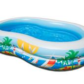 Бассейн детский надувной «Райская лагуна» Интекс 56490