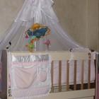 Продам кроватку с Постельным комплектом Baby Angel Бело-розовый