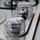 Защита на кухонную плиту от детей, защитные колпачки на ручки газовой плиты