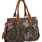 Яскрава модна сумочка з якісного замінника