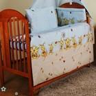 Комплекты постельного белья в детскую кроватку из 8-ед