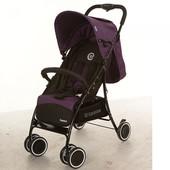 Прогулочная коляска Bambi M 3433-2 Centro, фиолетовая