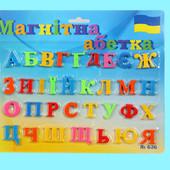 Магнитный набор Алфавит украинский Финекс Плюс (402)