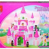 Конструктор М38-В0151 Замок для принцессы дворец розовая мечта, Sluban, 0151