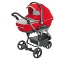 977 - T916 - Универсальная коляска 3 в 1 Neonato Reverso Sport Tris, красный с серым