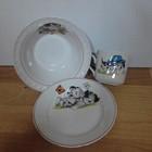 Набор посуды в садик с рисунком