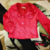 Нарядный пиджак с 3\4 рукавом.