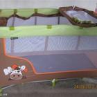 Детская кровать-манеж Lorelli (Лорелли) (Bertoni) Nanny 2 уровня с пеленальным столиком