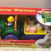 Игровой набор - ТРактор фермера (на колесах, свет, озвуч. укр. яз.) Kiddieland