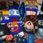 Шапки,шарфы спортивные клубные от 40-55 грн.