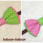 Двухцветная галстук-бабочка для деток